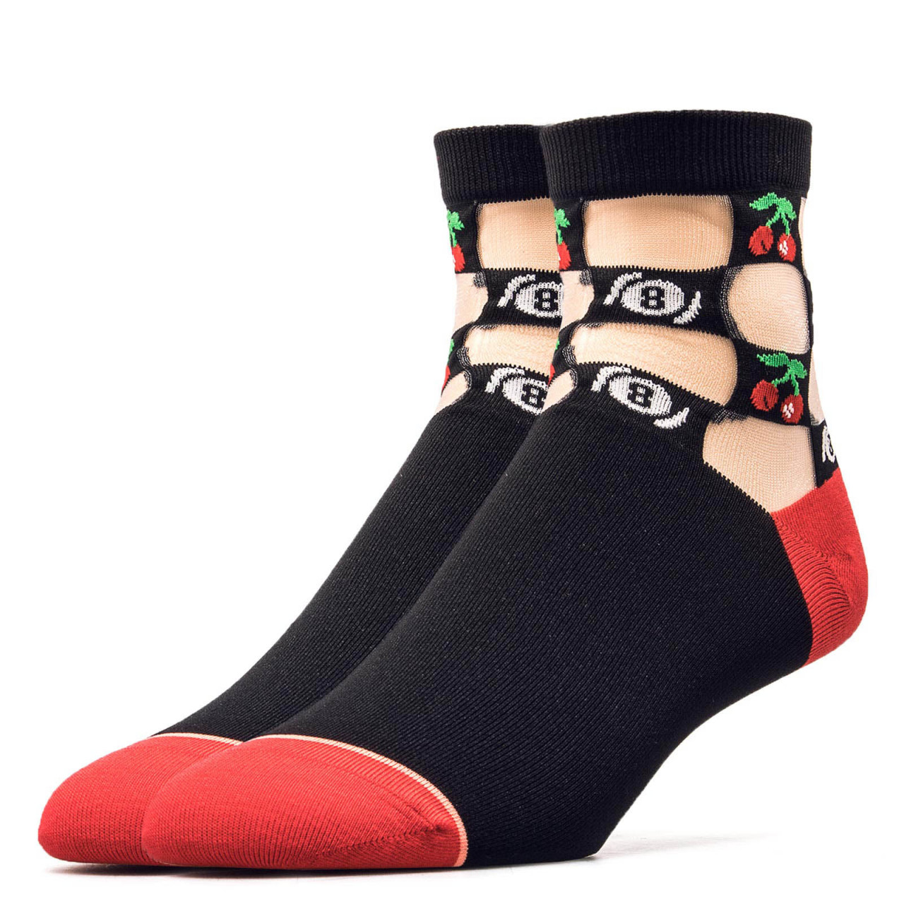 Stance Wmn Socks Foundation Schooled Blk