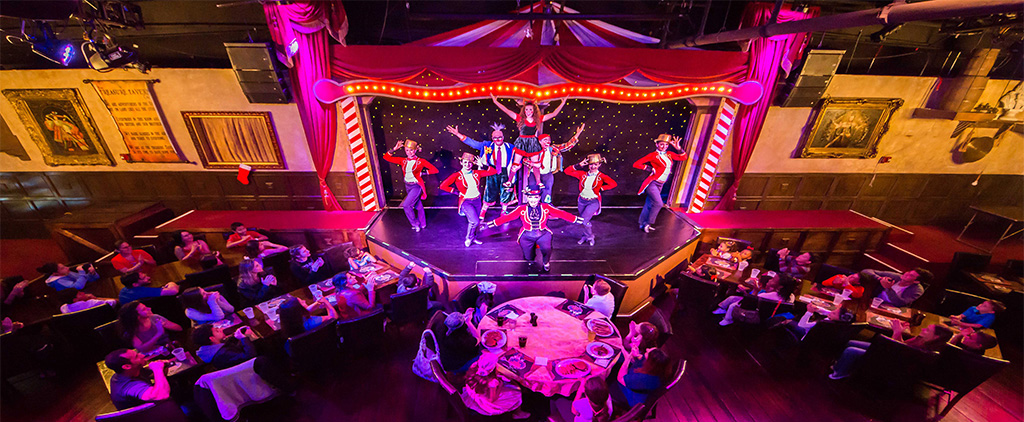 The Cirque Magique Dinner Show