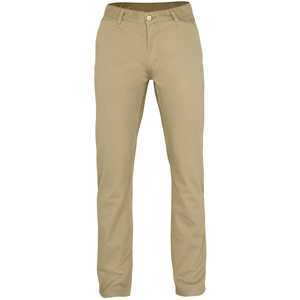 Outdoor Look Mens Groves Classic Casual Soft Chino Trousers S- Waist 32