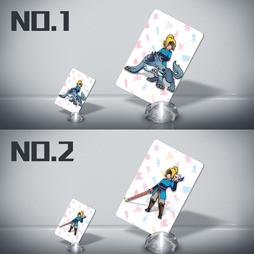 22pcs NFC 215 Tag Game Cards For Switch/Wii U - Standard Size