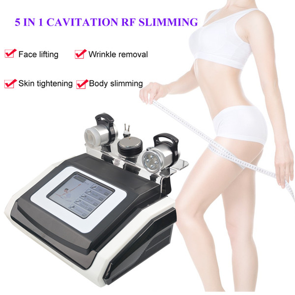 portable vacuum rf machine cavitation ultrasonic liposuction cellulite removal machine