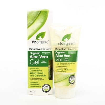 Organic Aloe Vera Gel with Cucumber