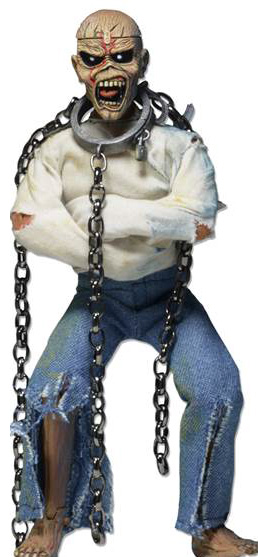 Eddie Clothed in Chains Poseable Figure