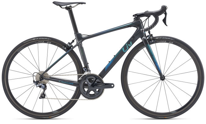 GIANT Langma Advanced Pro 1-Pro Compact Small Charcoal Road Bike 2019