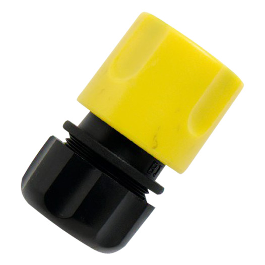 Snap-Fit Hose Connector, Plastic Snap-fit 13mm