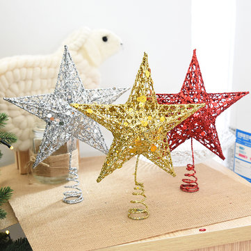 Christmas Tree Topper Star Iron Christmas Star Tree Topper