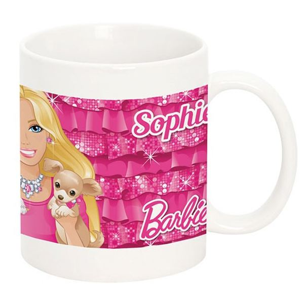 Personalised Barbie Mug