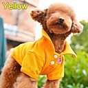 Colorful Polo T-Shirt for Dogs Clothes Pet Apparel (XS-L)