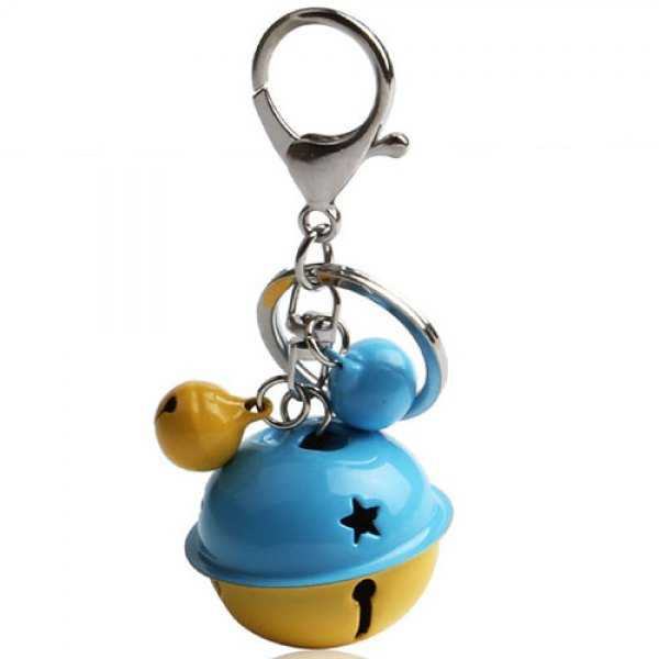 Cute Cartoon Creative Key Chain Doll Pendant Ladies Bag Car Bell