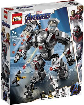 Avengers War Machine Buster- 76124 (76124)