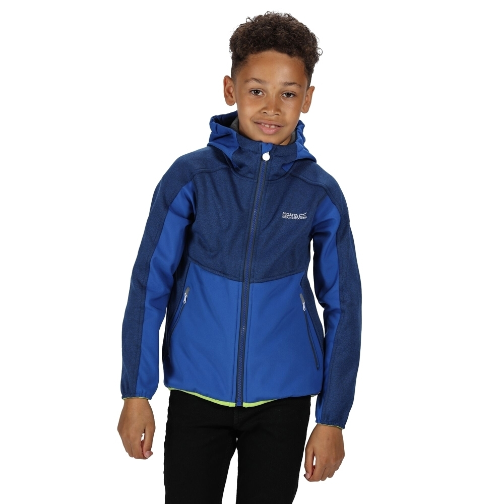 Regatta Boys Bracknell II Polyester Softshell Jacket 15 Years - Chest 86-98cm (Height 164-170cm)
