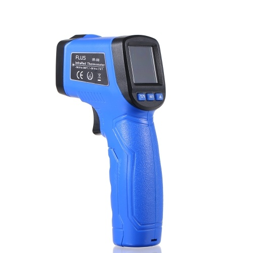 Mini Non-contact Infrared Thermometer Handheld LCD Display Digital Laser IR Infrared Thermometer Temperature Tester -58?~716?(-50?~380?)