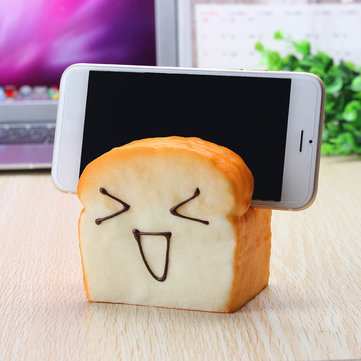 Cute Simulated Fragrant Toast Bread Model Squishy Toys Stress Reliever Play House Everyone Games