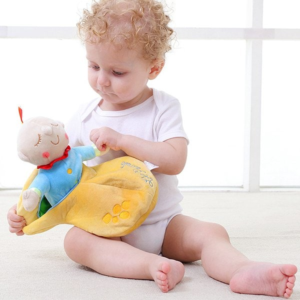 Baby Plush Toy Sleeping Doll