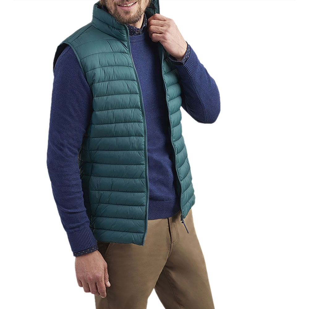 Joules Mens Go To Lightweight Padded Soft Down Body Warmer 3XL - Chest 54-56' (137-142cm)