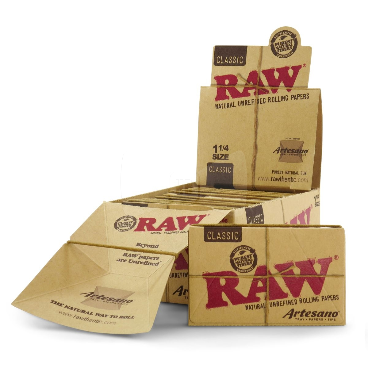 RAW Artesano 1 1/4 Rolling Papers 1 Pack