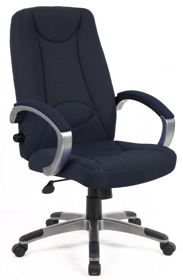 Lucca Office Chair in Charcoal