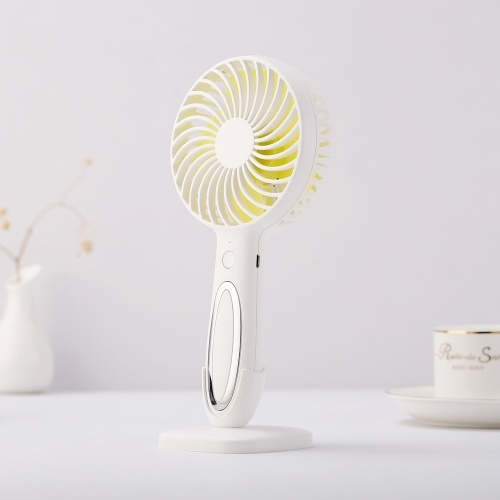 USB Portable Rechargeable LED Cooler Charging Mini Fan Cooling