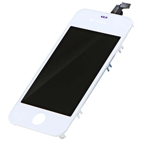 Austausch LCD Touch Screen Digitizer Glass Panel Assembly & Opening Tools for iPhone 4S Weiß