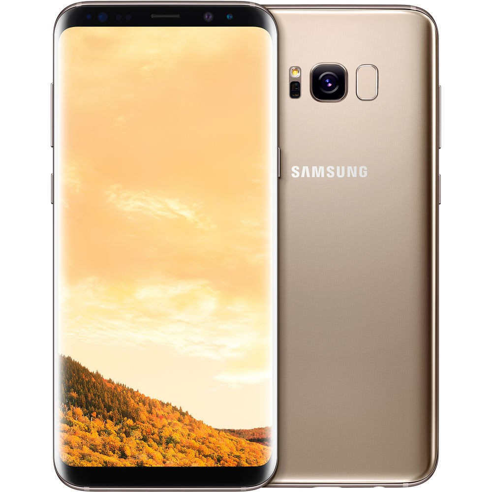 Galaxy S8 (Storage: 64GB, Network Lock: EE, Colour: Gold, Condition: Good)
