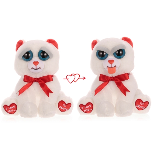 Feisty Pets Bear Taylor Truelove Feisty Films Adorable Plush Stuffed Toy Stick out Tongue with a Squeeze Special Valentine's Gift