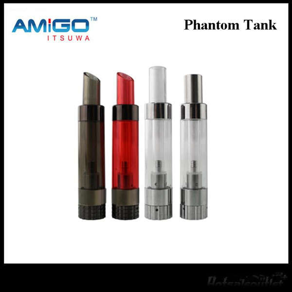 2017 iTsuwa Amigo Phantom Tank Bottom Fill Vaporizer Rebuildable Atomizers 2ML 1.6ohm For 2N1 Free DHL