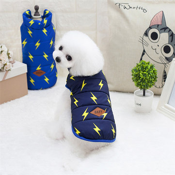 Pet Dog Puppy Vest Jacket Winter Clothes Coat  S-XXL