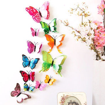 Self-Sticky Double-layer 3D Butterfly Wall Stickers
