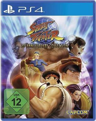 Capcom Street Fighter Anniversary Collection PS4 USK: 12 (70025-03)