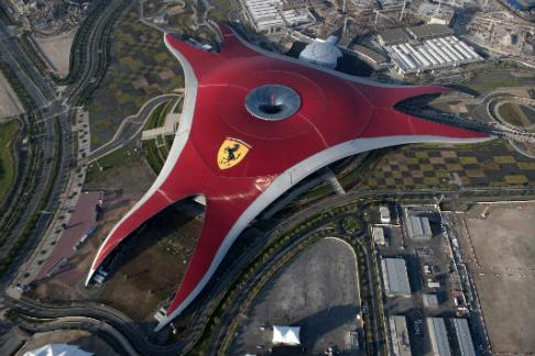 Ferrari World – Pase de 1 Día