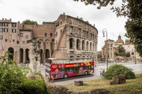City Sightseeing Rome - Romantic Rome - Night Tour