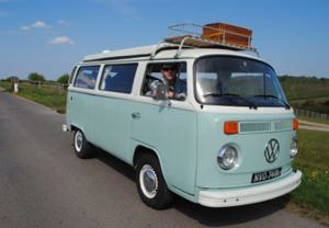 Three Day Hire of a Classic VW Camper Van